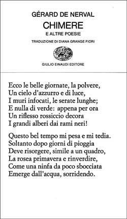 Chimere e altre poesie Gérard de Nerval
