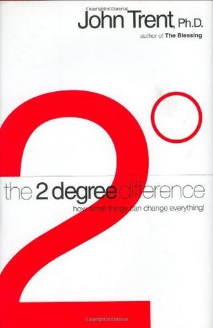 The 2-Degree Difference: How Little Things Can Change Everything  by  John Trent