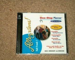 Allez Viens! French 1 One-Stop Planner CD-ROM set Demado