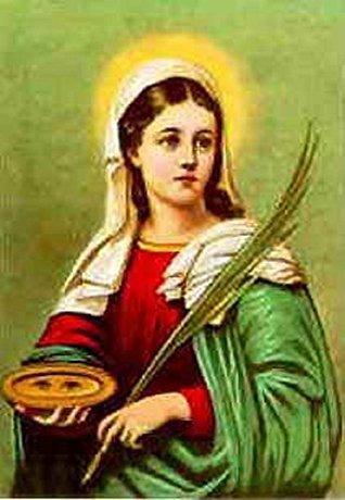 La Vida de santa Lucía en verso: cantares de ciego Cerinto