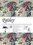 Paisley: Gift & Creative Paper Book  by  Pepin Van Roojen