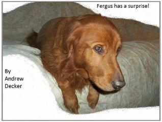 Fergus has a surprise! Andrew Decker
