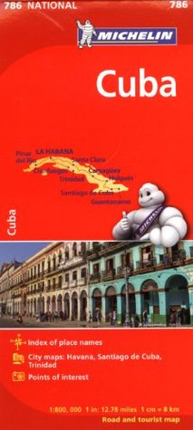 Michelin Cuba Map 786 (Maps/Country Michelin
