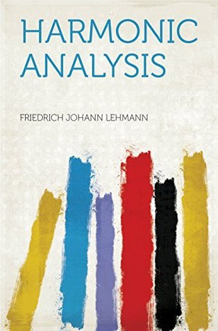 Harmonic Analysis  by  Lehmann