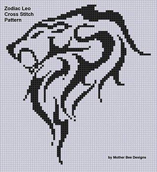 Zodiac Leo Cross Stitch Pattern NOT A BOOK
