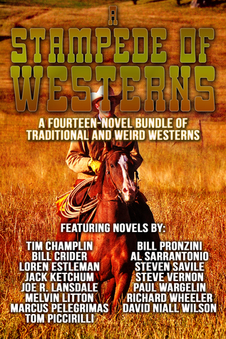 A Stampede of Westerns: A Fourteen Novel Bundle of Traditional and Weird Westerns  by  Tim Champlin