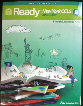 New York Common Core Grade 8 ELA Student Instruction Book  by  Common Core