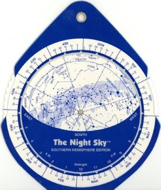 The Night Sky (Small) Southern Hemisphere Star Finder  by  David S. Chandler