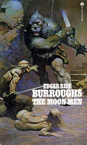 The Moon Men ( The Moon Trilogy #2) Edgar Rice Burroughs