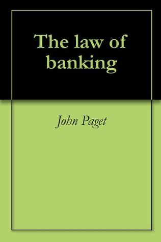 The law of banking John Paget