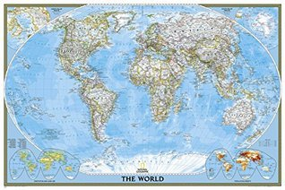 World Classic [Poster Size and Laminated] (National Geographic: Reference Map)  by  National Geographic Society