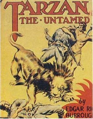 TARZAN THE UNTAMED (non illustrated)  by  Edgar Rice Burroughs