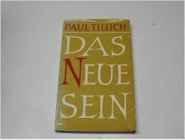 Das neue Sein Religiöse Reden 2. Folge.  by  Paul Tillich