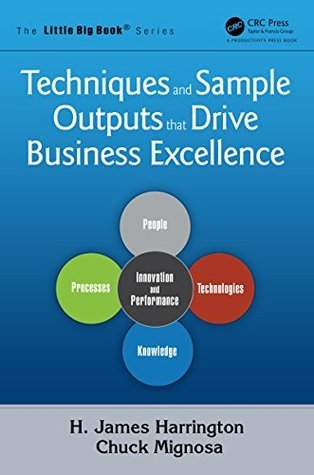 Techniques and Sample Outputs that Drive Business Excellence (The Little Big Book Series)  by  H. James Harrington