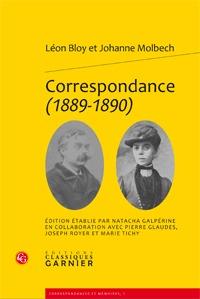 Correspondance (1889-1890) Léon Bloy