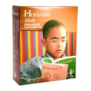 Horizons Math Kindergarten Set: Boxed Sets Include 2 Full Color Student Books and a Comprehensive Teacher Handbook. Teaches Recognitions Nad Printing  by  Various