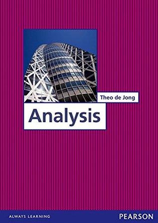 Analysis Theo de Jong