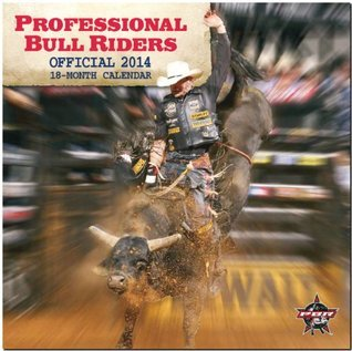 Professional Bull Riders 2014 Calendar Adventure NOT A BOOK