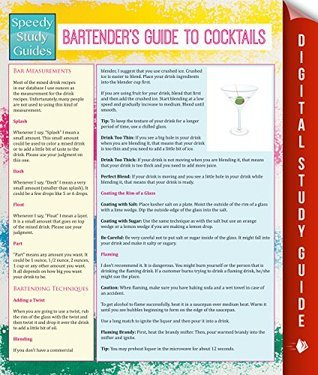 Bartenders Guide To Cocktails  by  Speedy Publishing