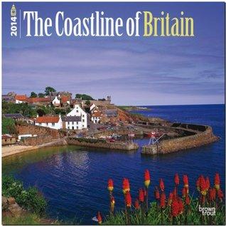 The Coastline of Britain 2014 Calendar NOT A BOOK