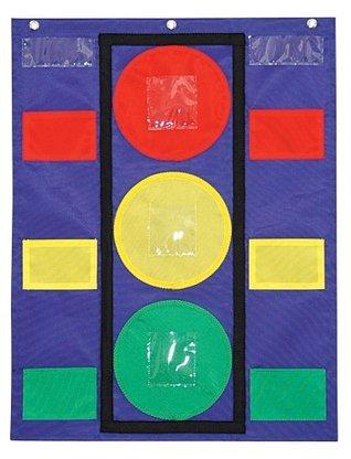 Carson Dellosa Stoplight Pocket Chart (158024)  by  Carson-Dellosa Publishing
