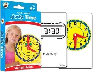 Judy® Time Flash Cards, Grades K - 5 Carson-Dellosa Publishing