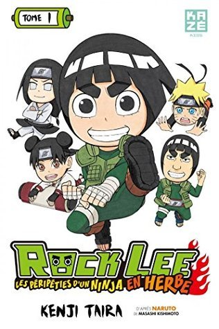 Rock Lee : Les péripéties dun ninja en herbe - Tome 1  by  Masashi Kishimoto