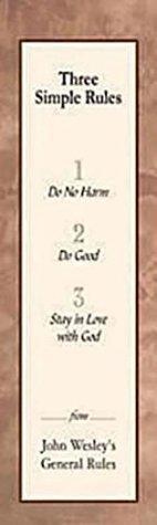 Three Simple Rules Bookmark (Package of 25) Rueben P. Job
