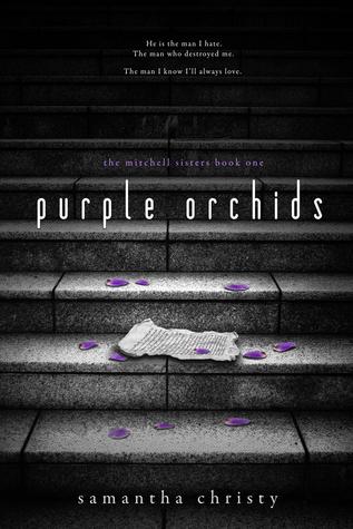 Purple Orchids  by  Samantha Christy