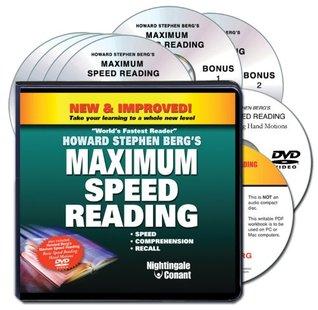 Howard Bergs Maximum Speed Reading (4 Compact Discs/2 Bonus Discs/PDF Workbook/1 DVD) Howard Berg