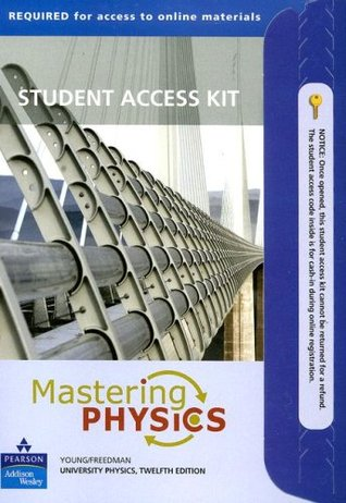 Mastering Physics for University Physics: Student Access Kit  by  Hugh D. Young