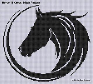 Horse 15 Cross Stitch Pattern NOT A BOOK