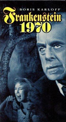 Frankenstein 1970 [VHS] Boris Karloff