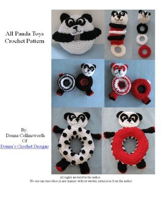 Panda Themed Toys For Baby Crochet Pattern Donna Collinsworth