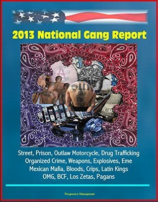 2013 National Gang Report - Street, Prison, Outlaw Motorcycle, Drug Trafficking, Organized Crime, Weapons, Explosives, Eme, Mexican Mafia, Bloods, Crips, Latin Kings, OMG, BCF, Los Zetas, Pagans U.S. Government