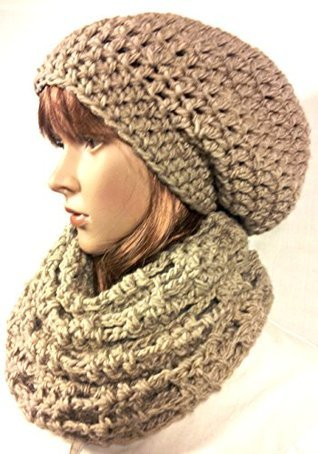 Trinity Cowl and Hat Set: Crochet Pattern (Tina Lynns Easy Crochet Pattern Book 1)  by  Tina Lynn