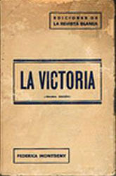 La victoria  by  Federica Montseny