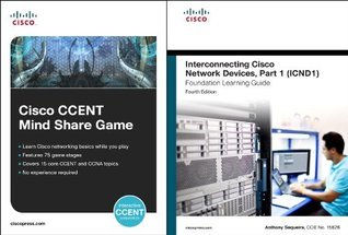 Cisco CCENT Mind Share Game and Interconnecting Cisco Network Devices, Part 1 (ICND1) Bundle (4th Edition) (Practical Studies)  by  Cisco Systems Inc.