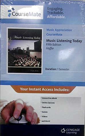 4-CD Set for Hoffers Music Listening Today, Cengage Advantage Edition, 5th Charles Hoffer