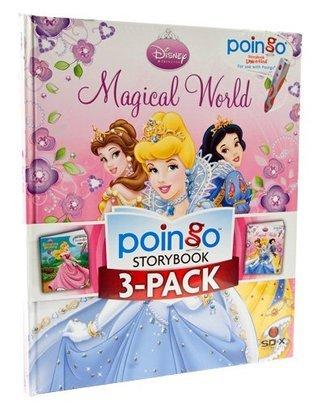 Poingo 3-Book Disney Princess Library: Cinderella, Sleeping Beauty, Magical World  by  Editors of Poingo Storybooks