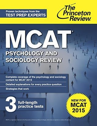 MCAT Psychology and Sociology Review: New for MCAT 2015  by  Princeton Review