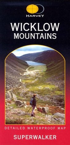 Wicklow Mountains  by  Harvey Map Services Ltd
