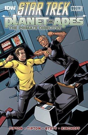 Star Trek/Planet of the Apes #3  by  Scott Tipton