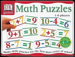 DK Games: Math Puzzles DK Preschool