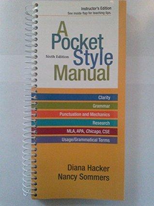 A Pocket Style Manual - Instructors Edition Diana Hacker