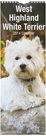 West Highland Terrier (Slim) 2014 (Calendar 2014)  by  Avonside Publishing