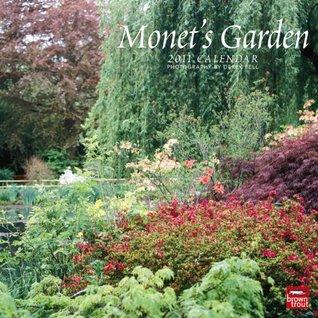 Monets Garden 2011 Square 12X12 Wall Calendar NOT A BOOK