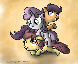 The Cutie Mark Crusaders and the Legend of the Rainbow Idol Cyanide