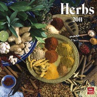 Herbs 2011 Square 12X12 Wall Calendar NOT A BOOK