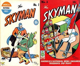 The Skyman. Issues 1 and 2. Americas national hero. Golden Age digital comics superheroes and Heroines.  by  Golden Age Heroes and Heroines Comics